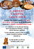 2. advent na Lesné